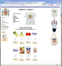 Serbian T-shirts
