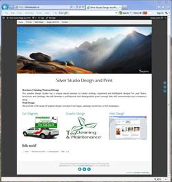 Silver Studio design and print